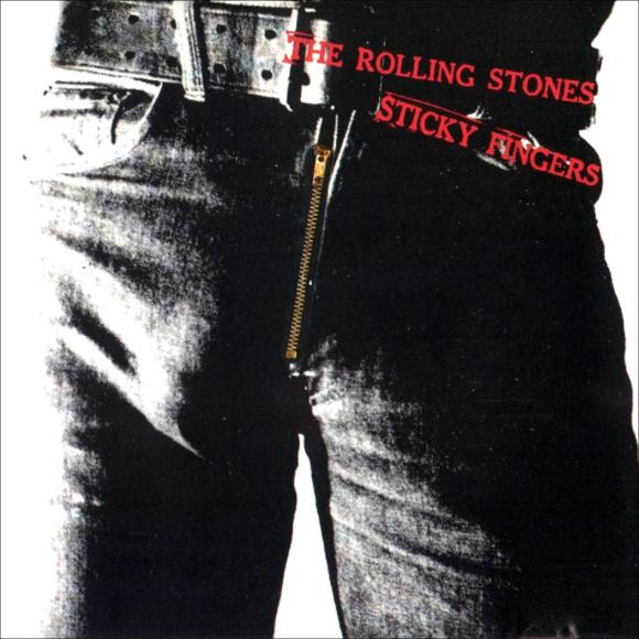 STICKY FINGERS, compliments of Andy Warhol.