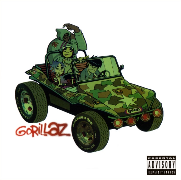 Gorillaz Album Art